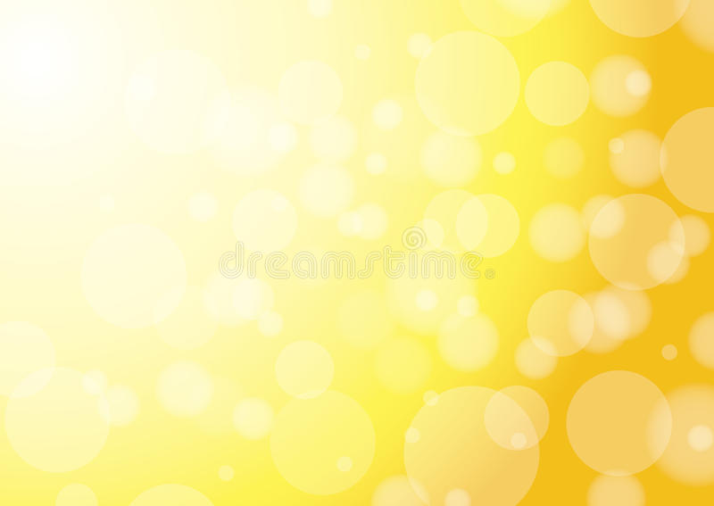 Abstracte gele achtergrond - vector  stock illustratie