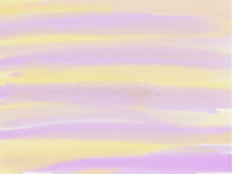 abstracte gele en roze achtergrond De illustratie van de rooster stock fotografie