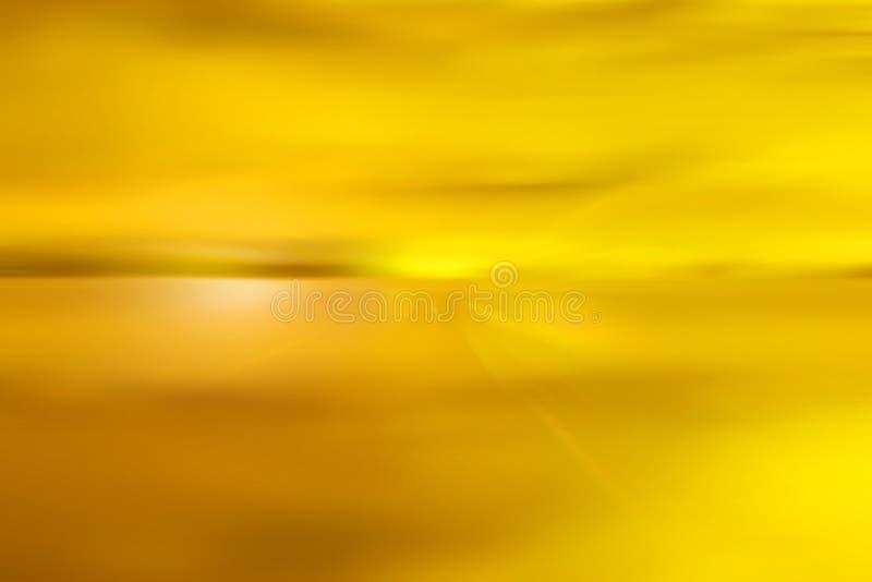 Abstracte gele hemel royalty-vrije illustratie