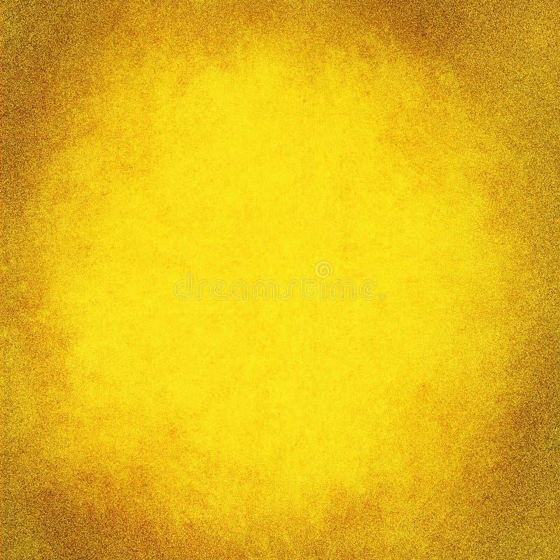 Abstracte gele textuur als achtergrond royalty-vrije illustratie