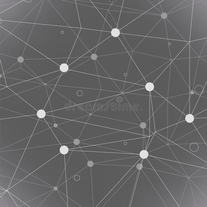 Abstracte geometrisch stock illustratie