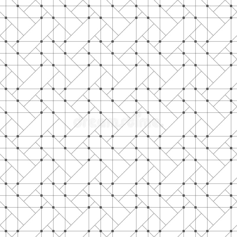 Abstracte geometrische achtergrond stock illustratie