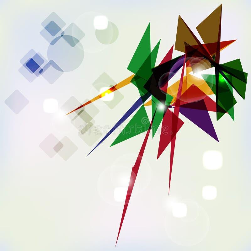 Abstracte geometrische achtergrond. vector illustratie