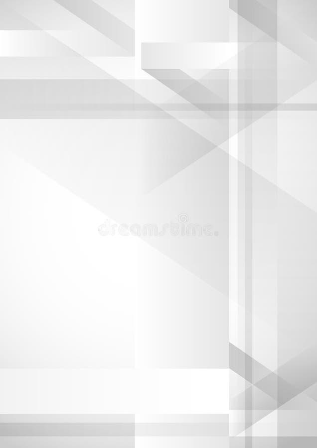Abstracte Geometrische Achtergrond. royalty-vrije illustratie