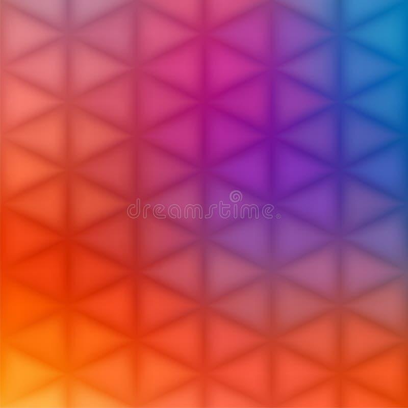 Abstracte geometrische achtergrond - driehoeken vector illustratie