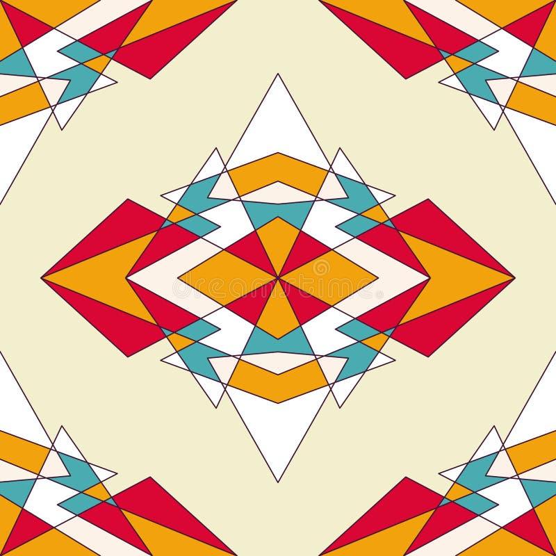Abstracte geometrische achtergrond met driehoeken royalty-vrije stock fotografie