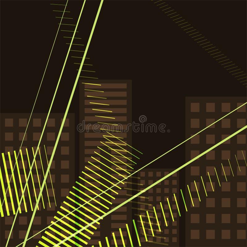 Abstracte geometrische achtergrond met verschillende variaties van de gidsen voor uw ontwerp vector illustratie