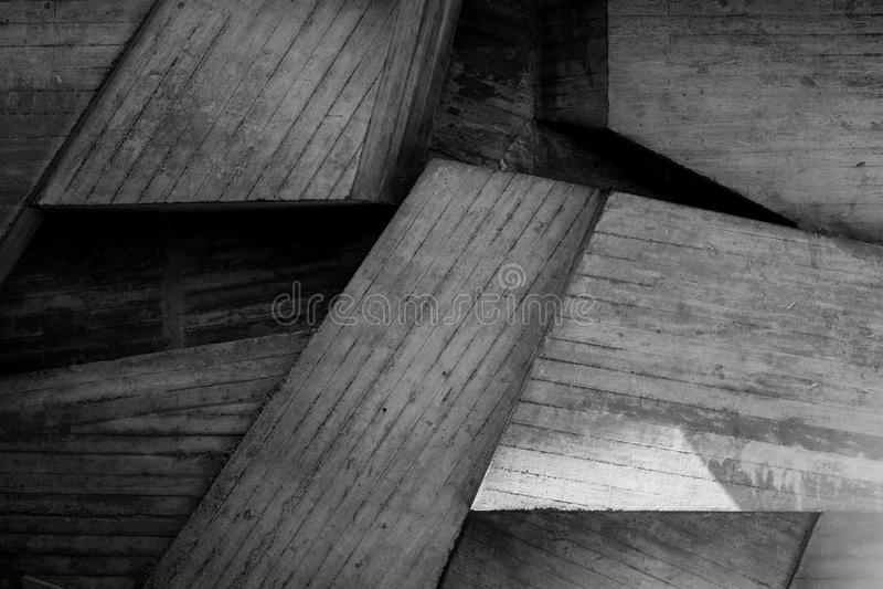 Abstracte geometrische achtergrond van concrete dichte omhooggaand stock foto's