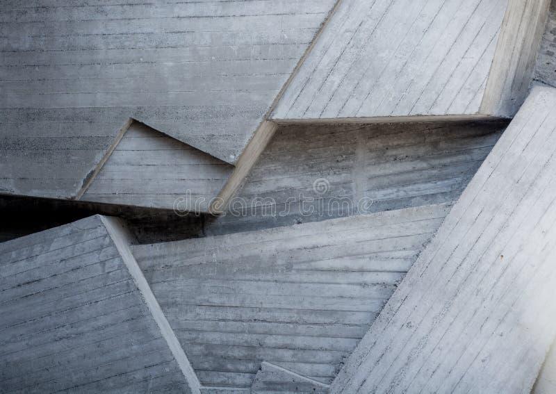 Abstracte geometrische achtergrond van het beton royalty-vrije stock foto