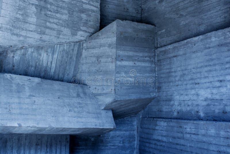 Abstracte geometrische achtergrond van het beton royalty-vrije stock foto's
