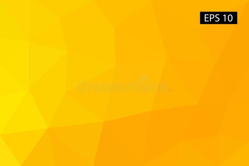 Abstracte geometrische achtergrond, vector van veelhoeken, driehoek, vectorillustratie, vectorpatroon, driehoekig malplaatje stock illustratie