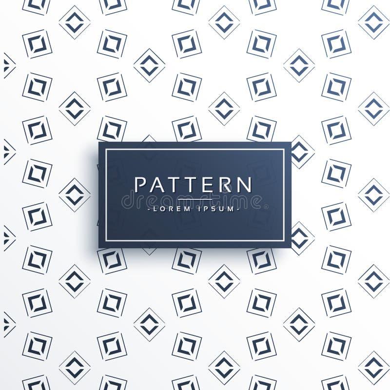 abstracte geometrische het patroonachtergrond van de vormlijn stock illustratie