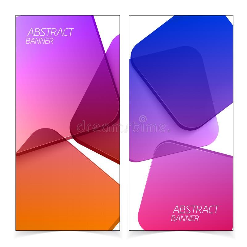 Abstracte geometrische kopballen royalty-vrije illustratie