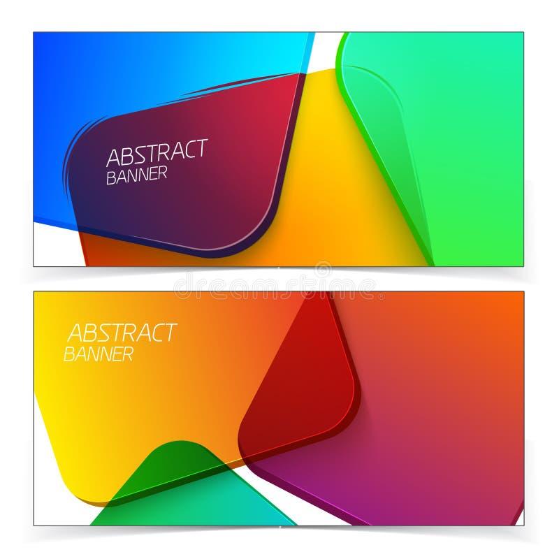 Abstracte geometrische kopballen vector illustratie