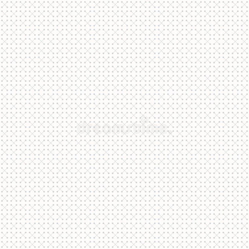 Abstracte geometrische patroonpunten in lijnen Naadloze grijze en witte textuur als achtergrond royalty-vrije illustratie