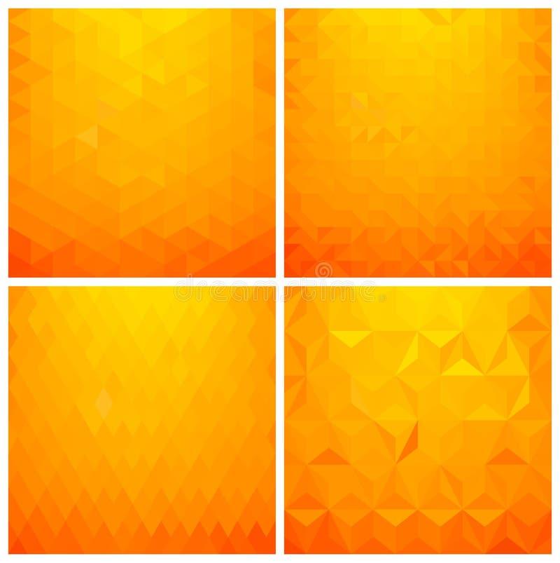 Download Abstracte Geometrische Reeks Als Achtergrond Vector Illustratie - Illustratie bestaande uit document, art: 54084150