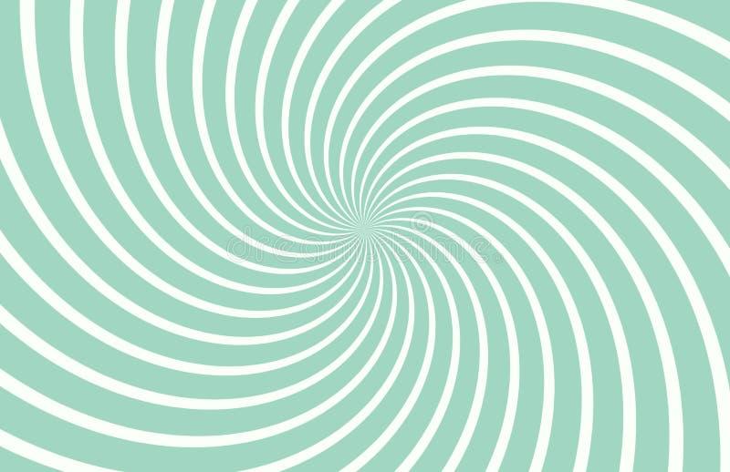 Abstracte geometrische witte en groene retro achtergrond royalty-vrije stock foto's