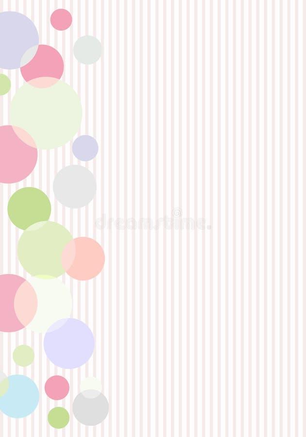 Abstracte gestreepte achtergrond vector illustratie