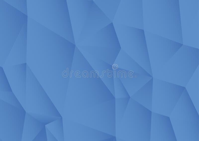 Abstracte geweven veelhoekige achtergrond stock illustratie