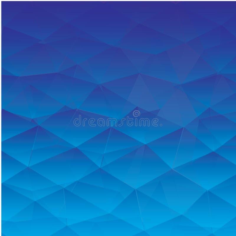 Abstracte geweven veelhoekige achtergrond - Het vector stock illustratie