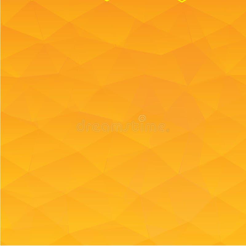 Abstracte geweven veelhoekige achtergrond - Het vector royalty-vrije illustratie