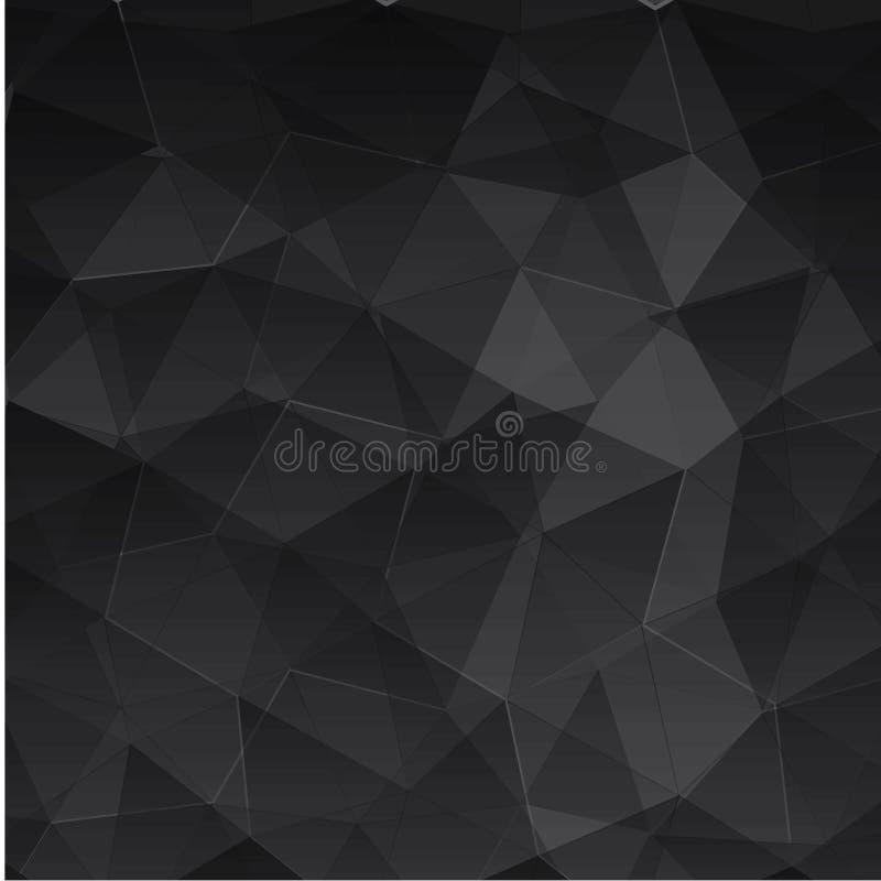 Abstracte geweven veelhoekige achtergrond - Het vector royalty-vrije stock foto