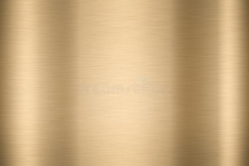 Abstracte Glanzende vlotte Gouden de kleurenachtergrond Heldere vi van het foliemetaal royalty-vrije stock fotografie