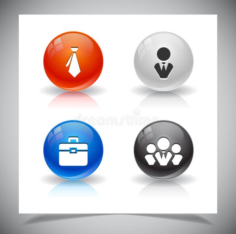 Download Abstracte Glasballen. EPS10 Dossier. Vector Illustratie - Illustratie bestaande uit knoop, organisatie: 39106896