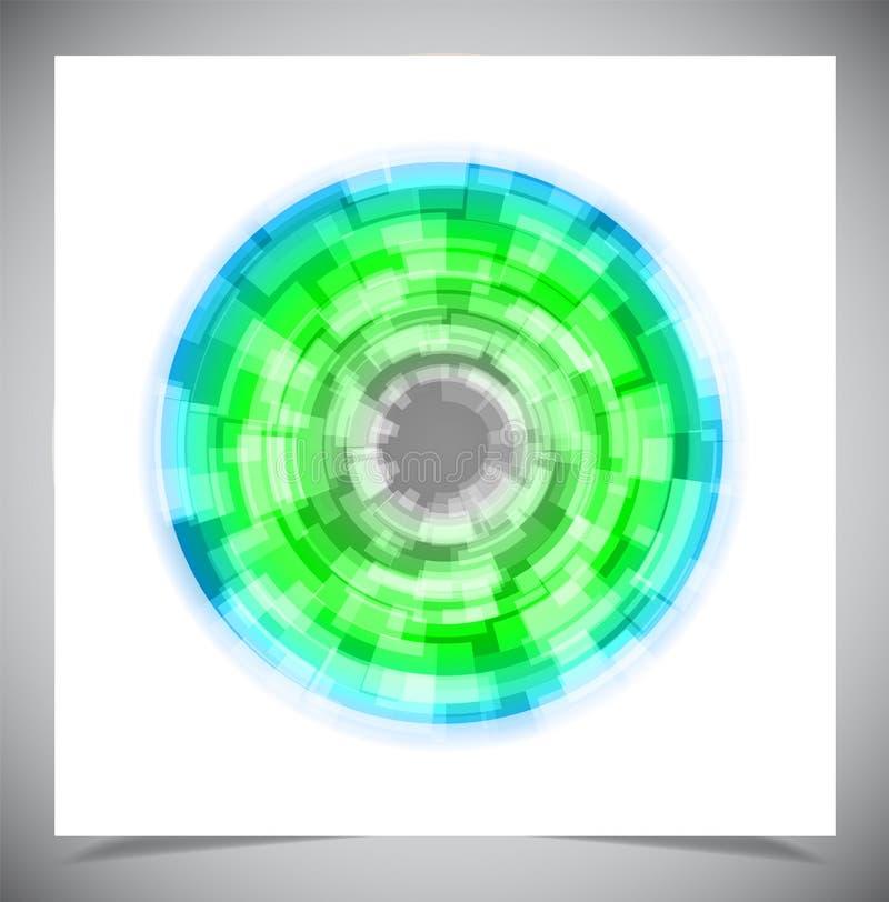 Download Abstracte Gloeiende Achtergrond Vector Illustratie - Illustratie bestaande uit grafisch, horizontaal: 39106226