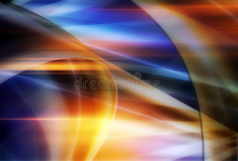Abstracte golven royalty-vrije stock fotografie