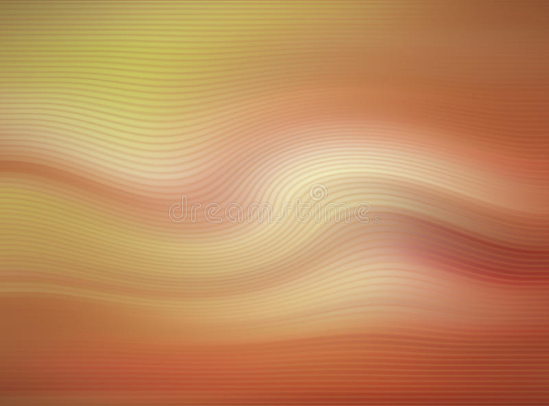 Abstracte golvende achtergrond royalty-vrije illustratie