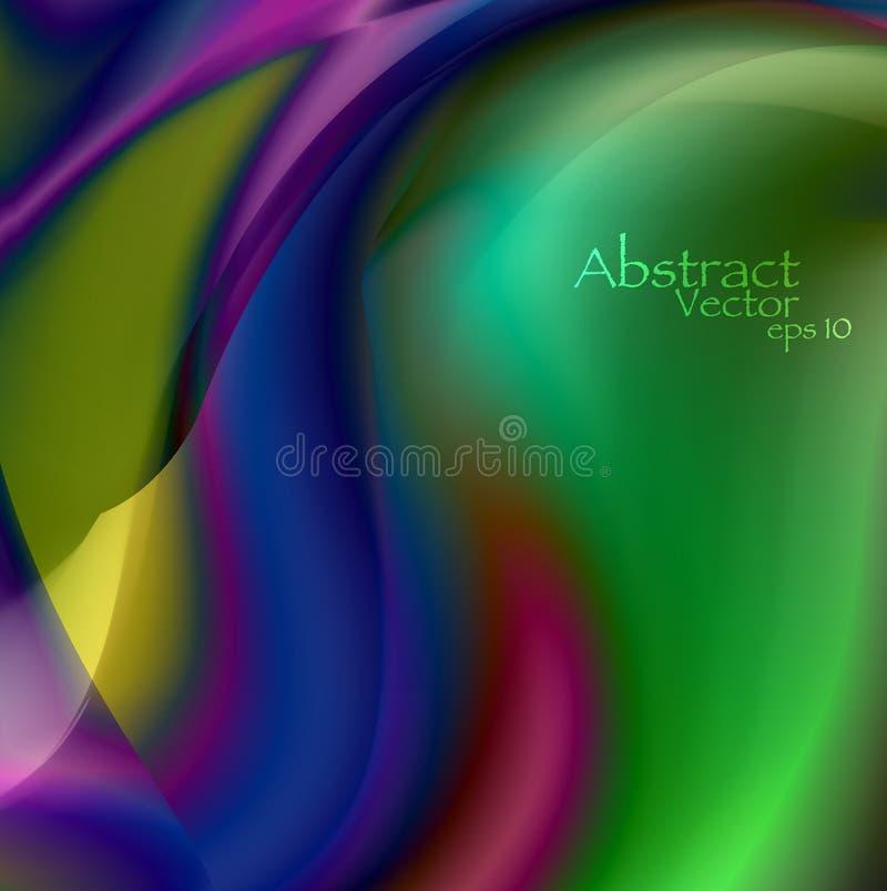 Abstracte golvende achtergrond eps10 stock afbeelding