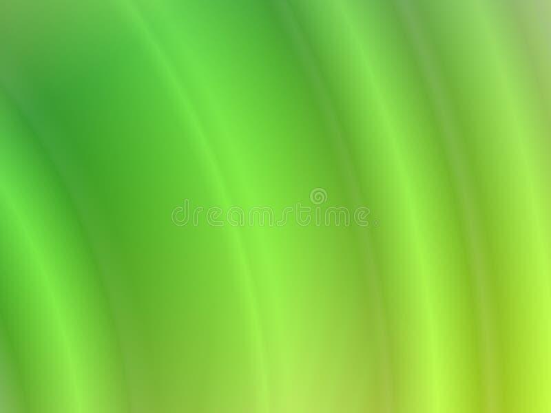 Abstracte golvende groene achtergrond vector illustratie