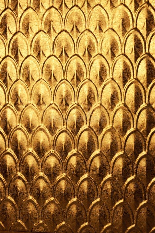 Abstracte Gouden Achtergrond stock afbeeldingen