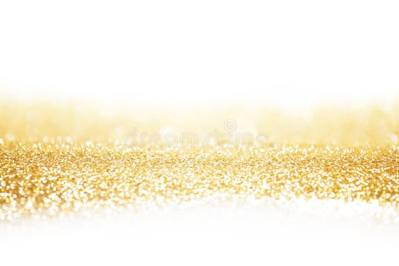 Abstracte gouden achtergrond royalty-vrije stock afbeeldingen