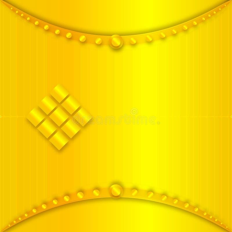 Abstracte gouden achtergrond nieuwe en zeer mooie Behang gele kleur, Bannerontwerp stock foto's
