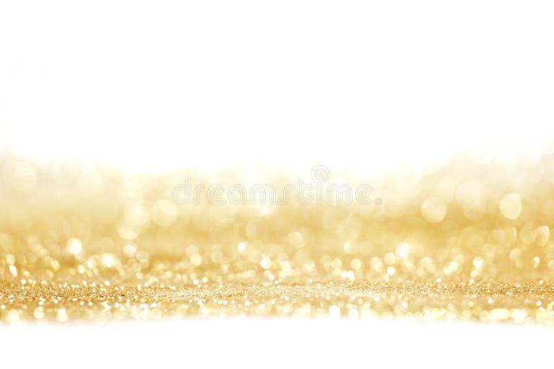 Abstracte gouden glanzende achtergrond royalty-vrije stock fotografie