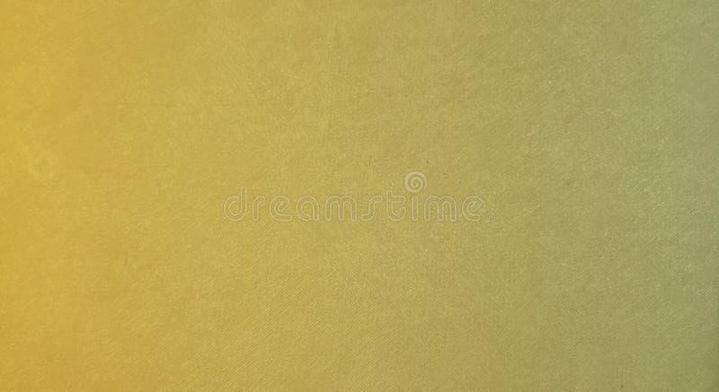 Abstracte gouden kleur met kaki kleurenmengsel met geweven behang als achtergrond royalty-vrije stock afbeeldingen