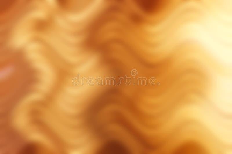 Abstracte gouden lichte achtergrond stock afbeelding