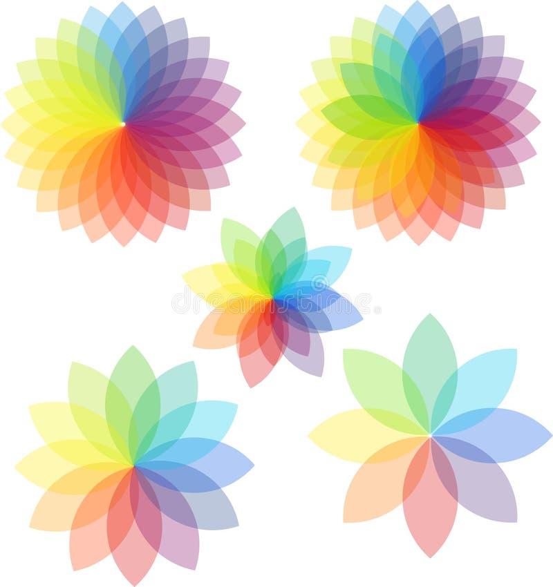 Abstracte gradiënt stock illustratie