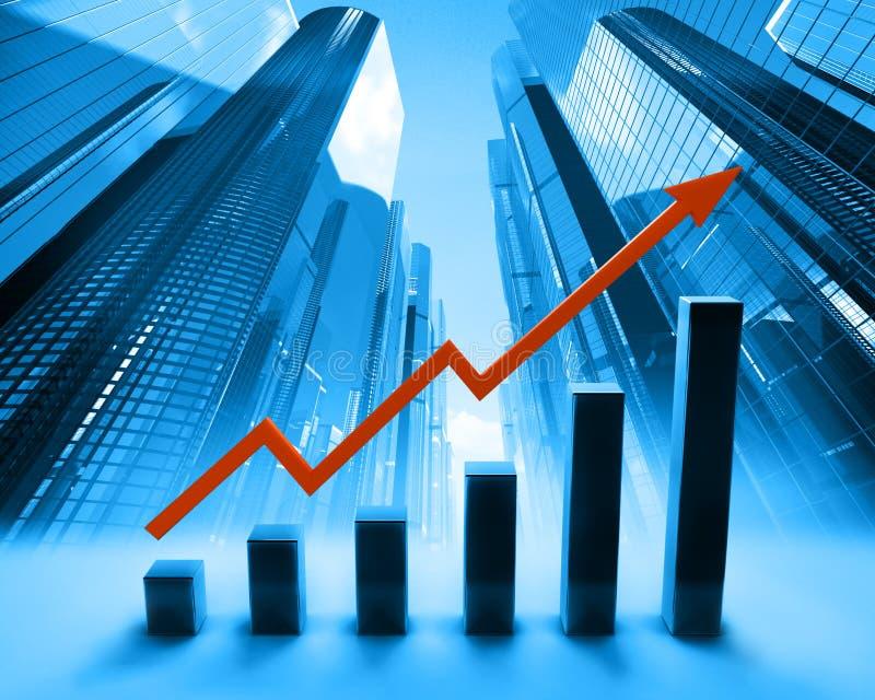 Abstracte grafiek stock illustratie