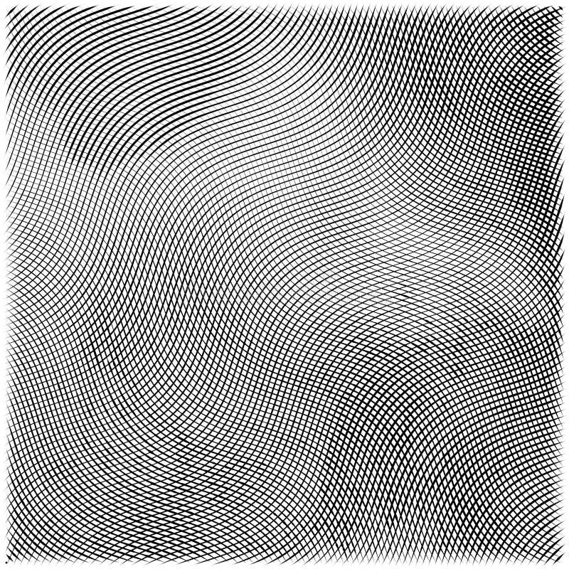 Abstracte gravure grunge textuur royalty-vrije illustratie