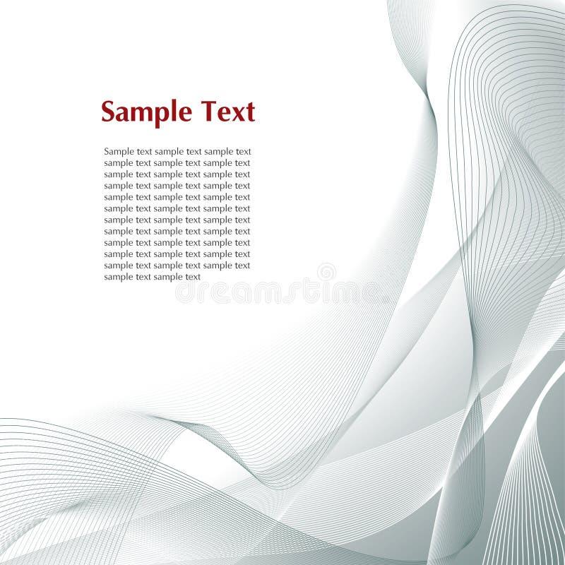 Abstracte grijze achtergrond vector illustratie