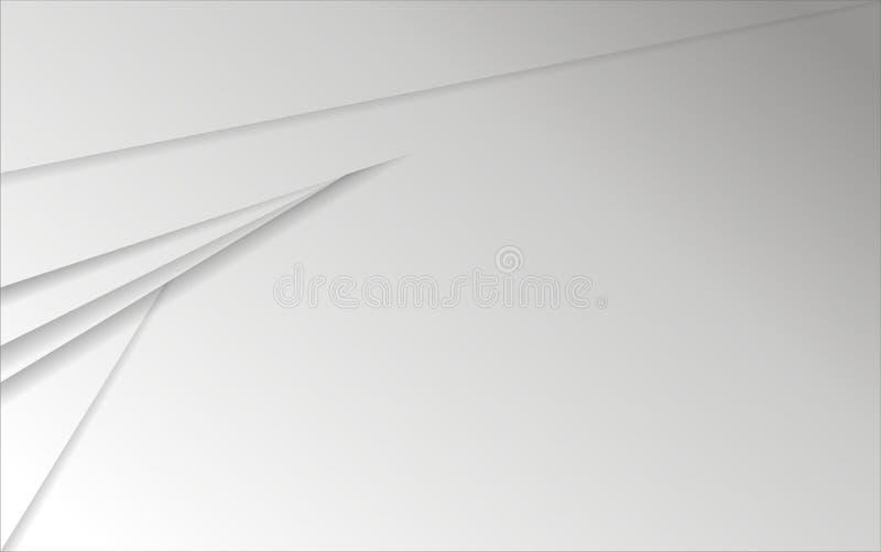 Abstracte grijze document achtergrond met eps 10 formaat royalty-vrije stock foto