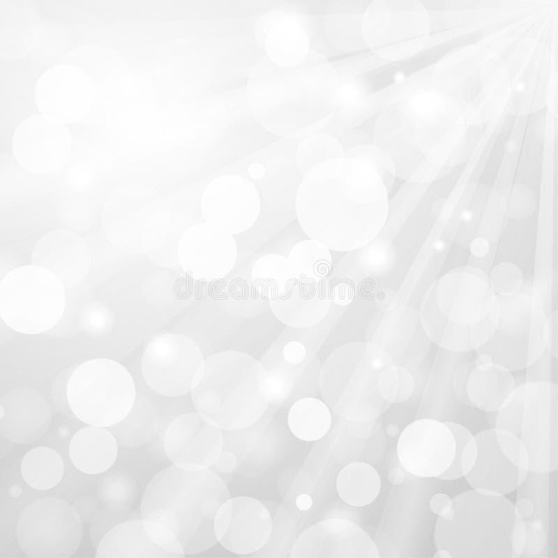 Abstracte grijze dynamische achtergrond met een licht onduidelijk beeld stock illustratie