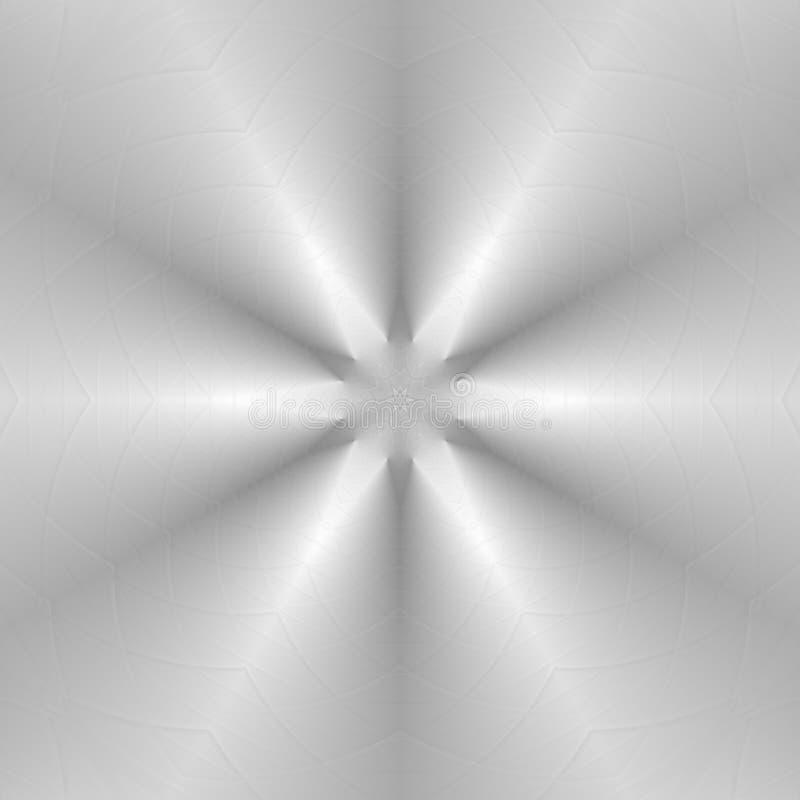 Abstracte grijze en witte kleuren geometrische achtergrond stock illustratie