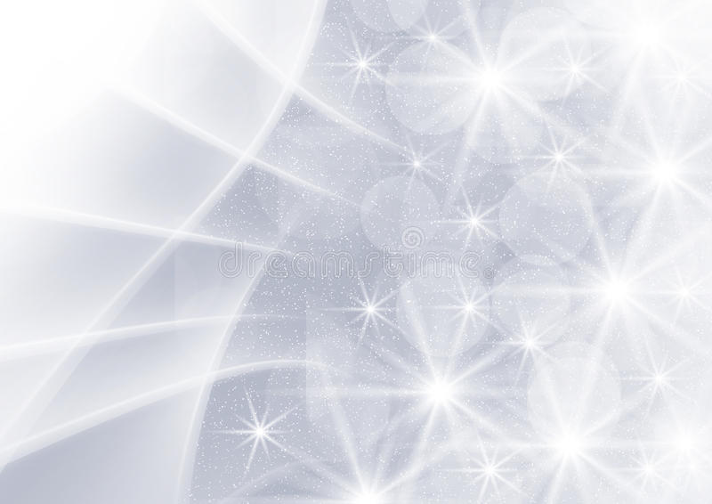 Abstracte grijze grafiekachtergrond met sterren vector illustratie
