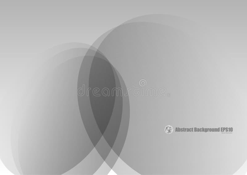 Abstracte grijze vector als achtergrond royalty-vrije illustratie
