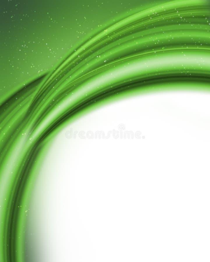 Abstracte groen vector illustratie