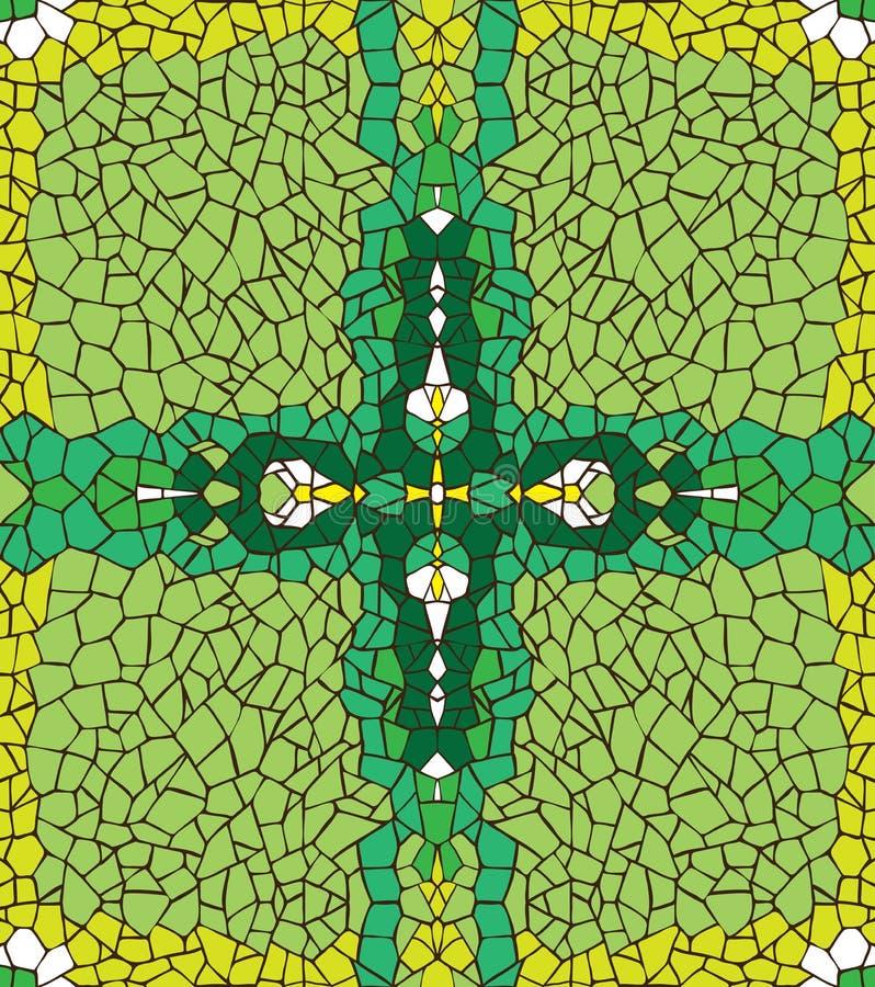 Abstracte groene achtergrond. stock illustratie